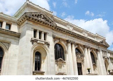 Public library in Washington D.C., United States.