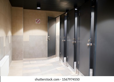 public male toilet at the airport