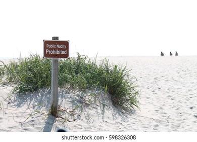 Public Nudity Prohibited