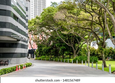 Public park called Fort Canning Park, Singapore. Also known as Government Hill, Singapore Hill and Bukit Larangan (Forbidden Hill in Malay). In 14th century was a centre of  ancient Singapura