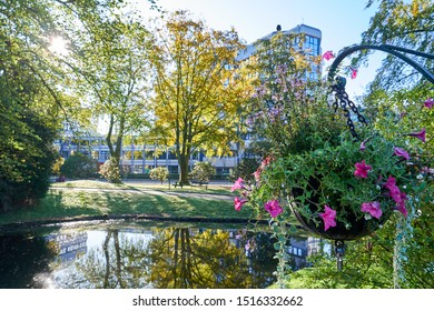 Nygårdsparken is a public park located in the city centre of Bergen, Norway, between the neighbourhoods of Nygård and Møhlenpris. Covering 172.896 square meters, it is the largest urban park in Bergen