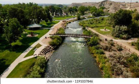 Public Park in Montrose Colorado