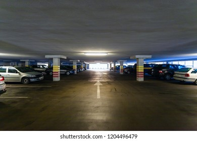 public parking in the building