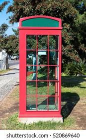 Public phone at Jeju-Do, Jeju Island, South Korea