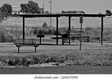 Public Picnicking Areas, Lindsey City Park, Canyon, Texas