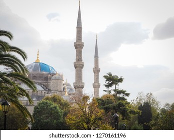 Public places A world heritage blue mosque in the historic city of Turkey.