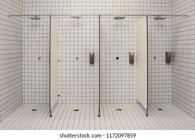 public shower room