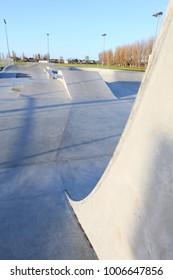 public skatepark in harwich, essex. For bikes, scooters and skateboards. Concrete.