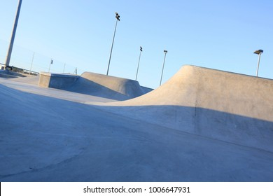 public skatepark in harwich, essex. For bikes, scooters and saketboards. Concrete.