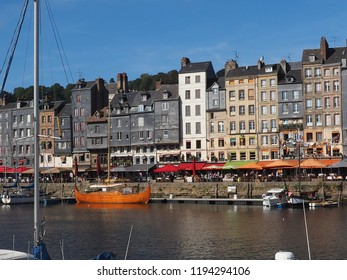 public skyline of honfleur, France