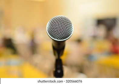 Public speaking at Lone Microphone