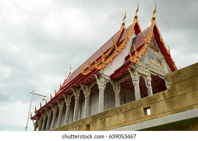 public temple in southern Thailand.