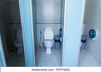 Public toilet,