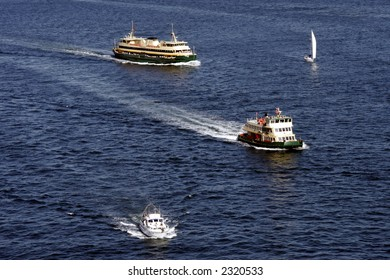 Public Transport Ferries, Sydney Harbour Bay, Australia