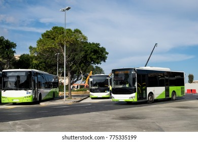 The public transport of Malta consists of buses. Their routes usually start from Valletta bus station and cover the whole island and Gozo.