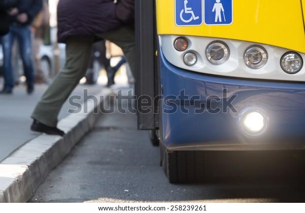 Public transportation.