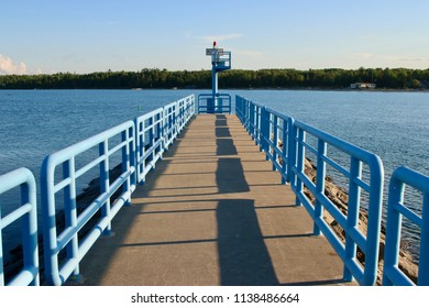 Public Walk and Dock on Water