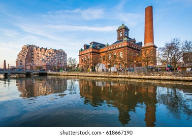 The Public Works Museum, at the Inner Harbor in Baltimore, Maryland.
