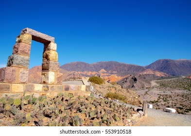 Pucara de Tilcara is an archaeological site of the Inca located in the Quebrada de Humahuaca a mountain valley in the area Jujuy in Argentina