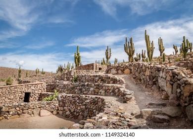 Pucara de Tilcara pre-inca ruins - Tilcara, Jujuy, Argentina