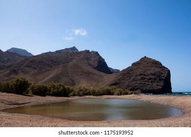 Puddle of the La Aldea, Gran Canaria