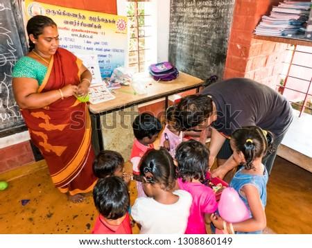 PUDUCHERY INDIA DECEMBER Circa 2018 Poor Stock Photo (Edit