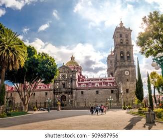 Puebla Cathedral - Puebla, Mexico
