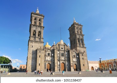 Puebla Cathedral is a Roman Catholic church in the city of Puebla, Mexico.