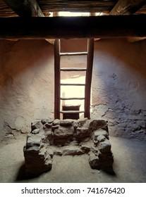 Pueblo Kiva Ladder