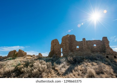Pueblo Pintado Unit of Chaco Culture National Monument in New Mexico