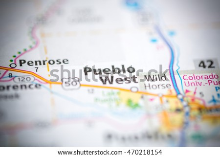 Pueblo West Colorado Usa Stock Photo Edit Now 470218154 Shutterstock