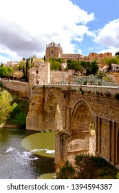 Puente de San Martín Bridge of Toledo, Spain
