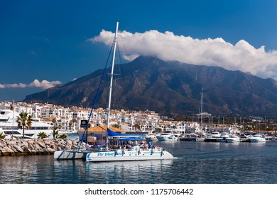 PUERTO BANUS MARBELLA, SPAIN - MAY 2018: 