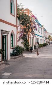 Puerto de Mogan Gran Canaria, colorful harbor village Gran Canaria