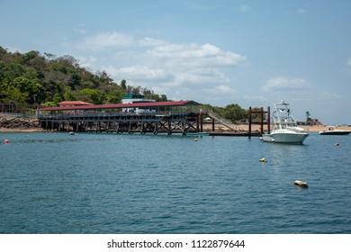 Puerto en Isla Taboga Panama