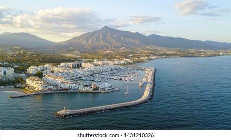 Puerto Banús Marina, Marbella, Spain