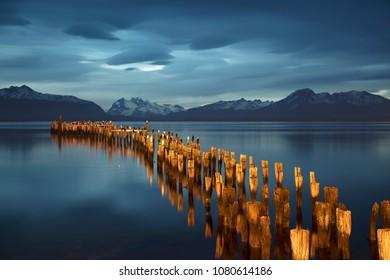 Puerto Natales shore