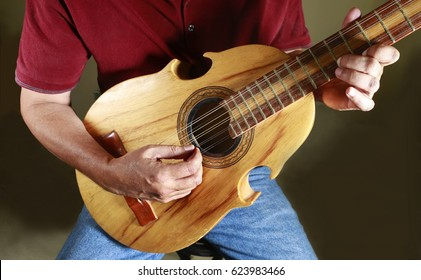 Puerto Rican cuatro player