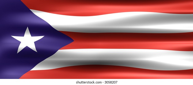 Puerto Rico Flag - Symbol of a country