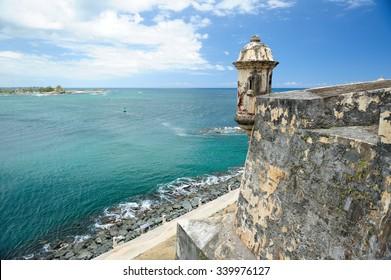 Puerto Rico fort castle caribbean