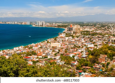 Puerto Vallarta, Mexico.Scenic view of Puerto Vallarta, Mexico.