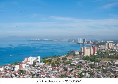 Puerto Vallarta panoramic view