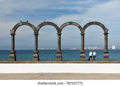 Puerto Vallarta traditional arches
