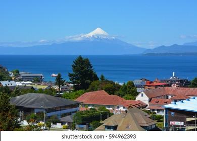 PUERTO VARAS CHILE Osorno  VOLCANO  Llanquihue Lake
