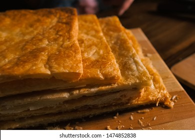 Puff pastry layers of the future puff pastry pie