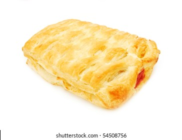 puff pastry with morello cherry
