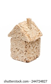 Puffed wheat house