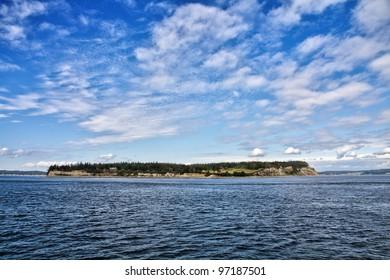 Puget Sound landscape