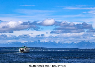 Puget Sound in Seattle, Washington
