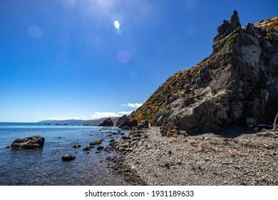 Pukerua Bay, on the southern end of Kapiti Coast, New Zealand